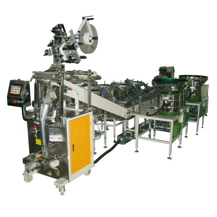 12 Years Manufacturer Multifunction hardware accessories counting packaging machine