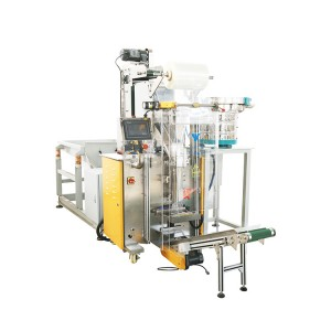 Efficient large quantity fastener packaging machine