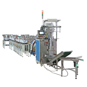 PLC Control Fastener Packing Machine Mixed Packaging