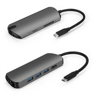 Rewoda USB C Hub 8-in-1