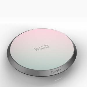 Wireless Charging Pad Color gradient design acrylic pad
