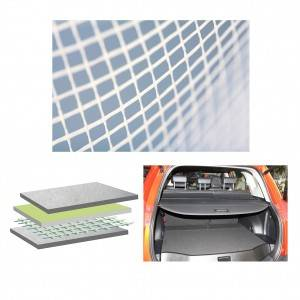 Non-woven laid scrims for Automotive Rear Shelves