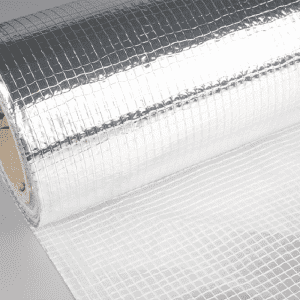None-woven Fabric Sailcloth Laminated Scrim Aluminum foil insulation scrim netting mesh