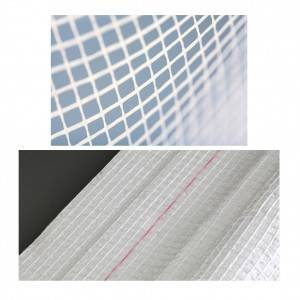 Non-woven laid scrim laminated with foam for reinforcement solutions