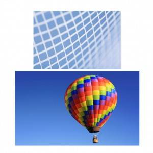Non-woven laid scrims laminated for Hot-air balloons for reinforcement solutions