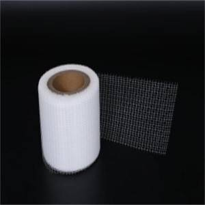 Polyester scrims netting fabric meshes for adhesive tapes for pipe spooling products