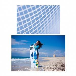 Non-woven laid scrims laminated for Kiteboards for reinforcement solutions