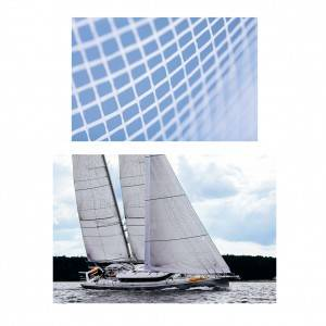 Non-woven laid scrims laminated for sails for reinforcement solutions