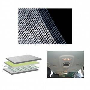 Non-woven laid scrims for Automotive Headliners