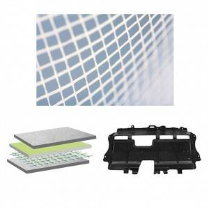 Non-woven laid scrims for Automotive Undershields