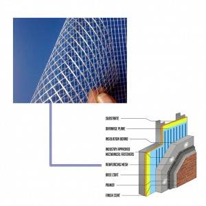 Non-woven Laid scrims for Building