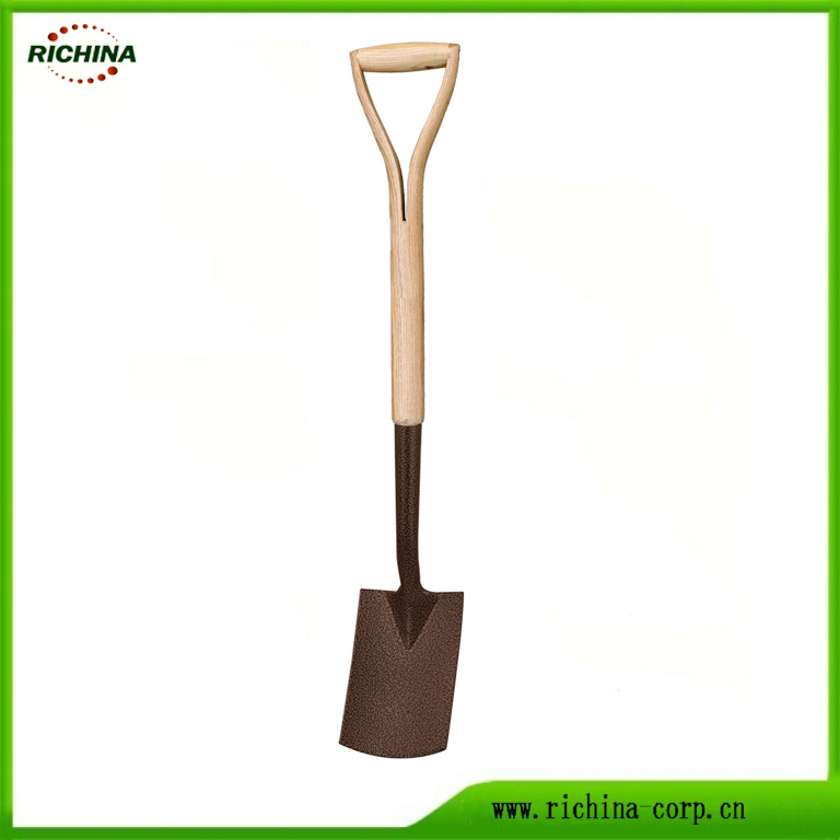 Garden Tools Carbon Steel Border Spade Kuchera foshoro