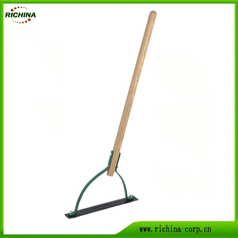 Garden weeder at Grass Cutter na may Wood hawakan