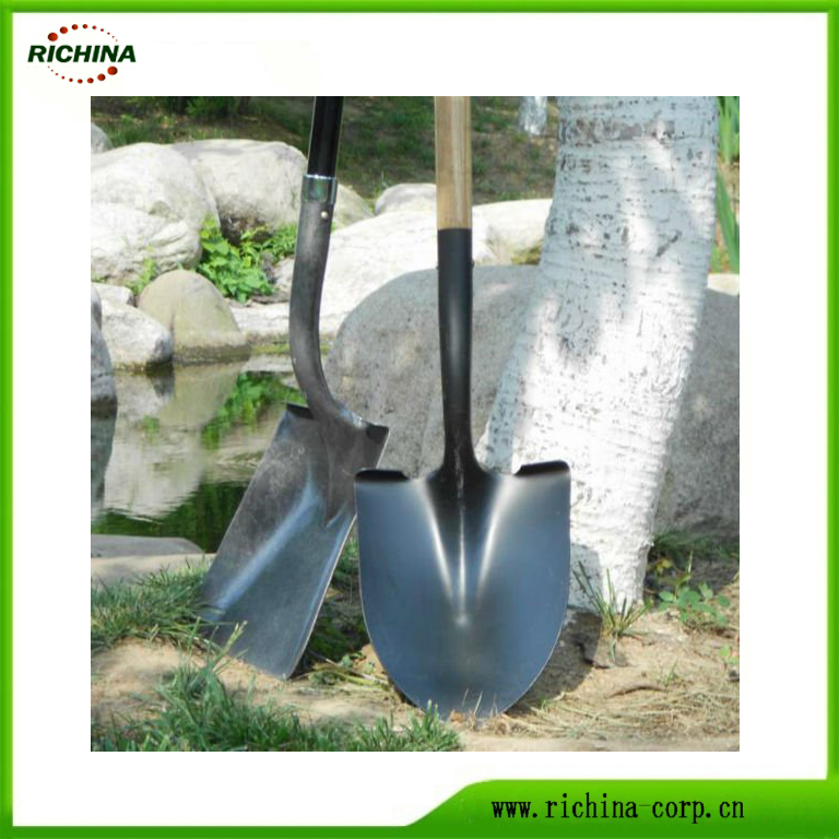 Carbon Steel Paghuhukay Shovel sa Long Handle