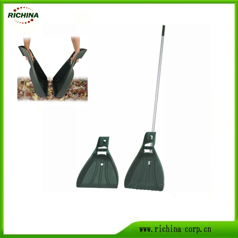 Yard Leaf Claw Scoop na may Aluminum Telescopic Handle
