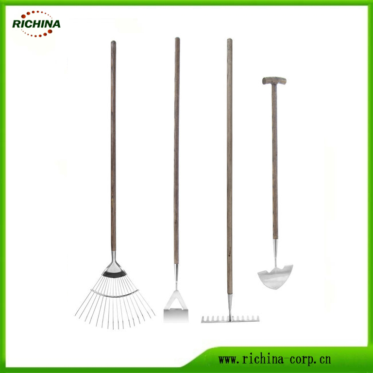 Stainless باغ Cultivator جا اوزار