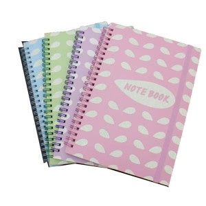 Spiral Notebook with PVC cover,cute style