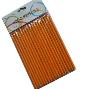 Pencils with rubber