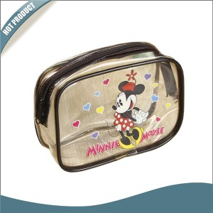 Transparent PVC Beauty case,Disney approved, Mickey, LOL surprise ,Frozen