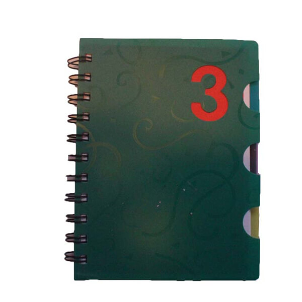 Spiral Notebook with PVC cover,office Featured Image