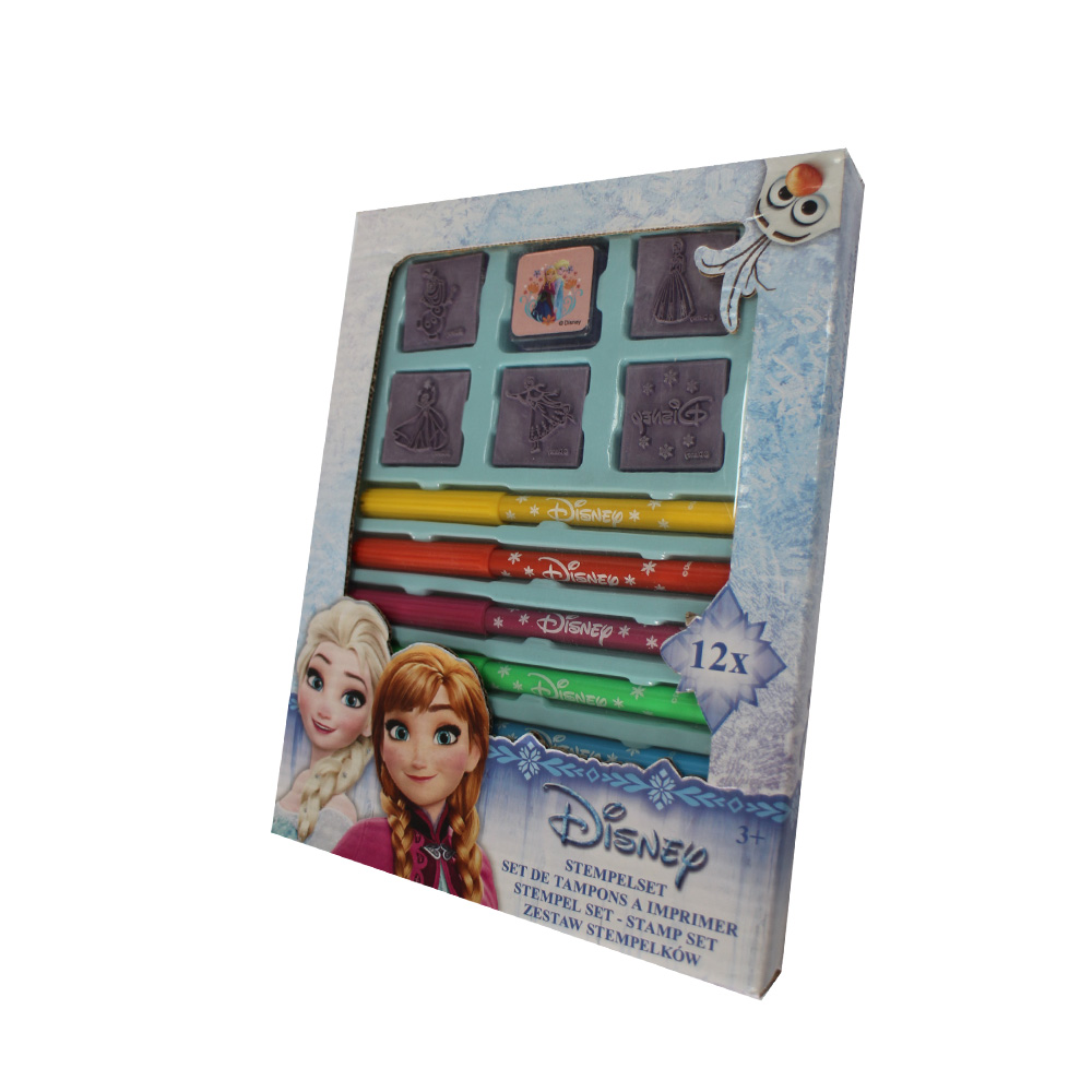 Creativity stamp set with water color pen,Disney approved, Mickey, LOL surprise ,Frozen Featured Image