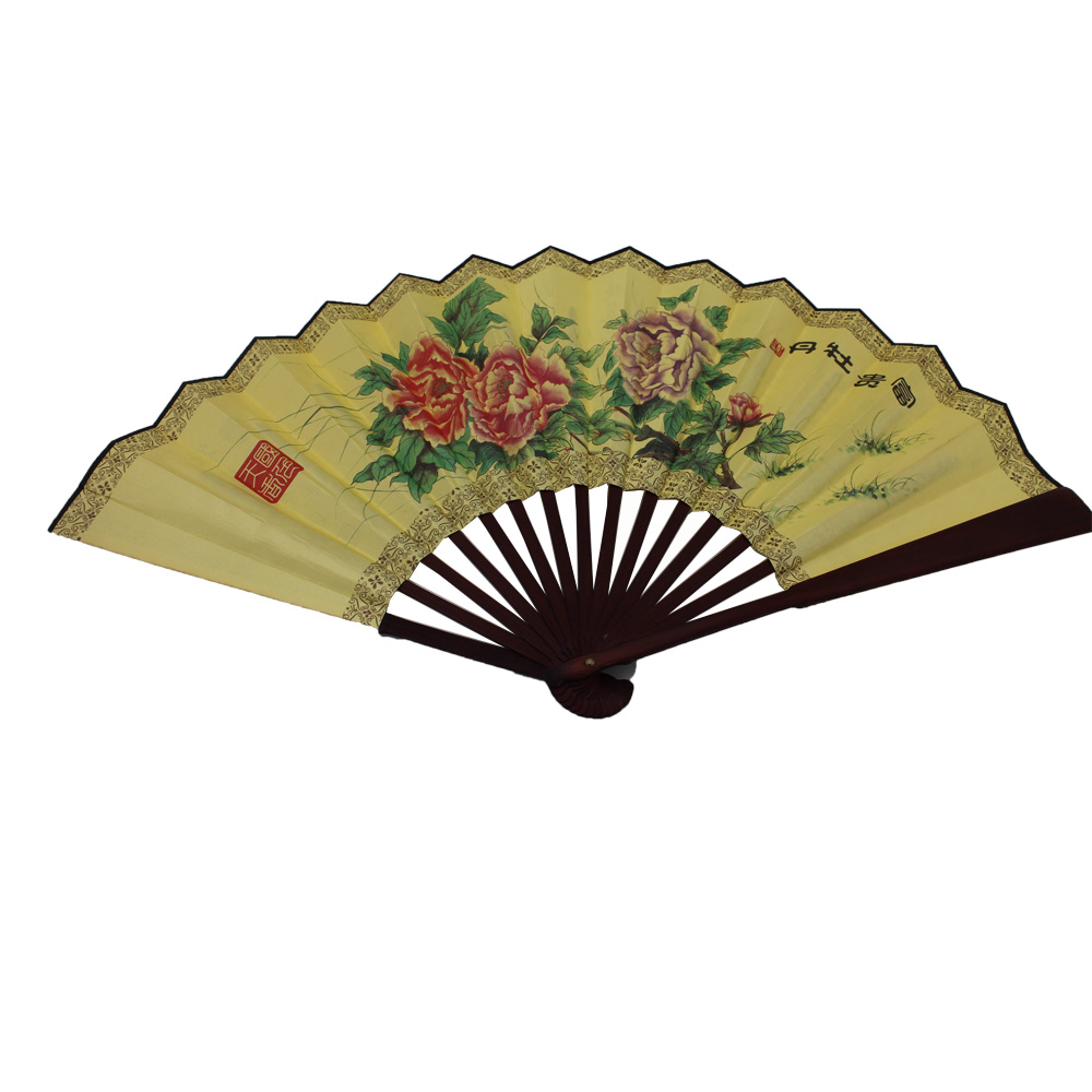 Promotional or festival folding fan