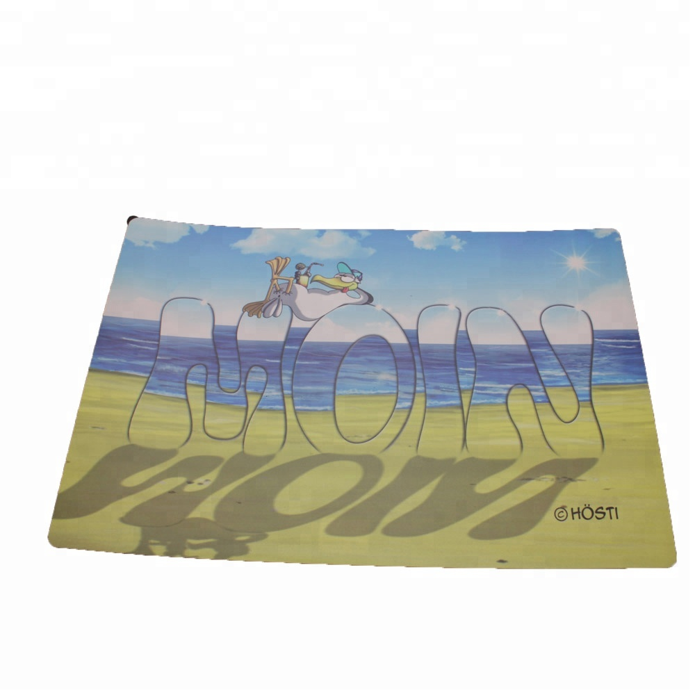 Washable plastic placemat for dining room kitchen table Featured Image