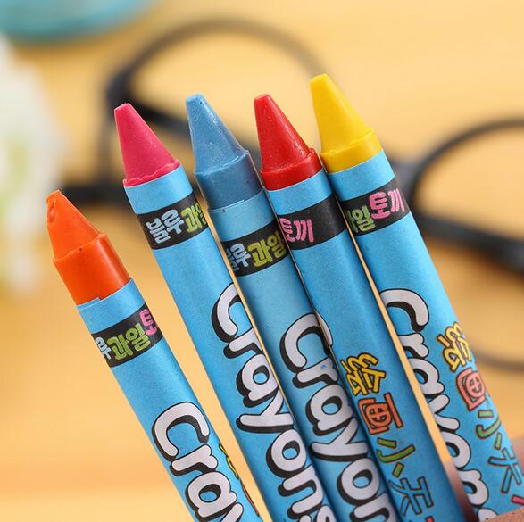 Pencil crayons wax Crayons set multicolor crayon pen packed in color box