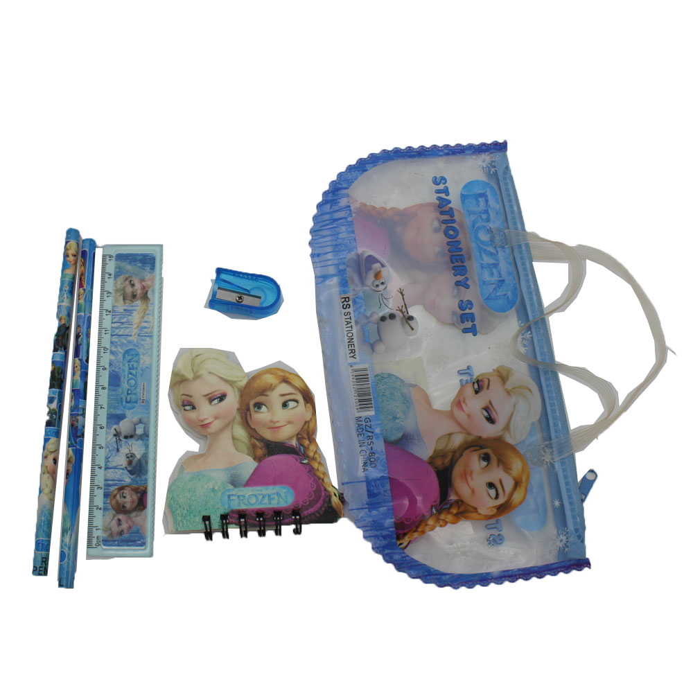 Disney Stationery set,Disney pencil case with handle,LOL Stationery set,LOL pencil case with handle