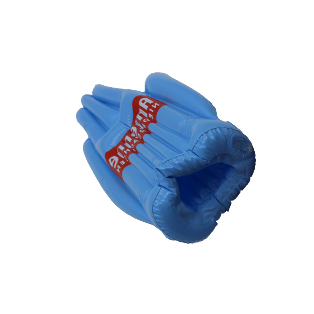 ECO-friendly PVC inflatable cheer hand durable PVC supporter fans hands
