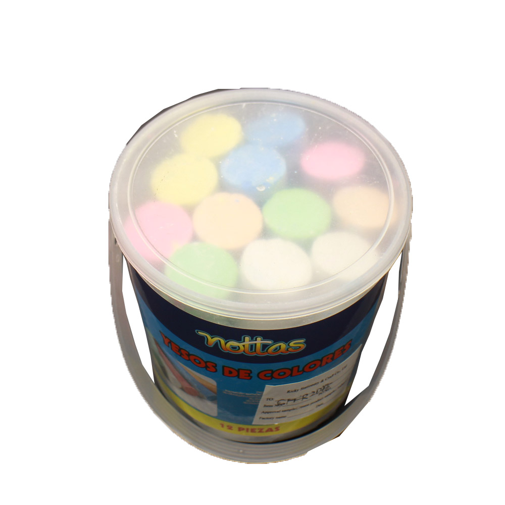 Dustless color jumbo chalks