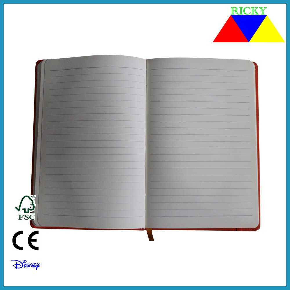 Classic A5 PU notebook several colors assorted
