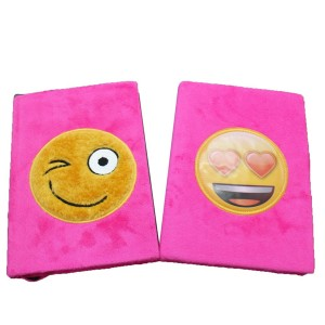 Emoji Plush Notebook