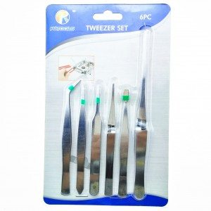 6-PCS  Tweezer Sets