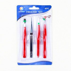 4-PCS Tweezer Sets