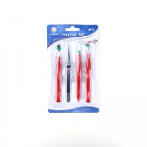 4-PCS Anti-static Tweezer Sets
