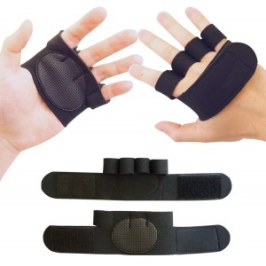 OEM factory Custom Weight-Lifting Workout Fitness Gloves Grips Accessories,half finger gloves for Men & Women