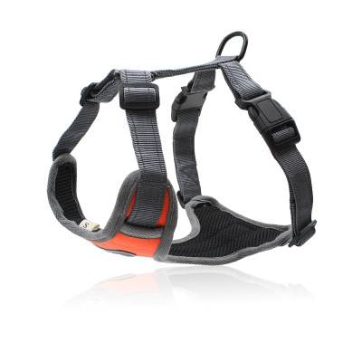 Front Loading Pet Vest Harness with Handle Adjustable Dog Padded Harness Reflective Mesh