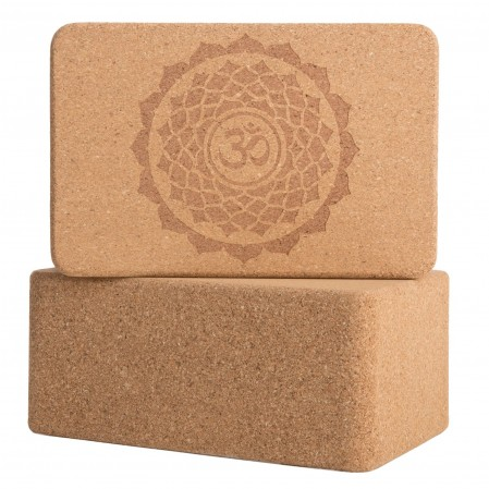 100% Recycled Cork Yoga Block