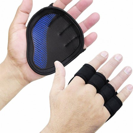 OEM factory Custom Workout Gloves Weight-Lifting Gym Training Anti-Slip Grip Pads ,half finger gloves Fitness for Men & Women