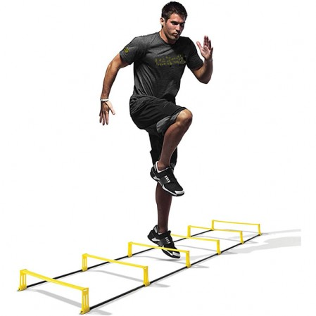 6x Hurdles Ultra Durable All Purpose Speed Training Plyometric speed Agility Hurdles ladder