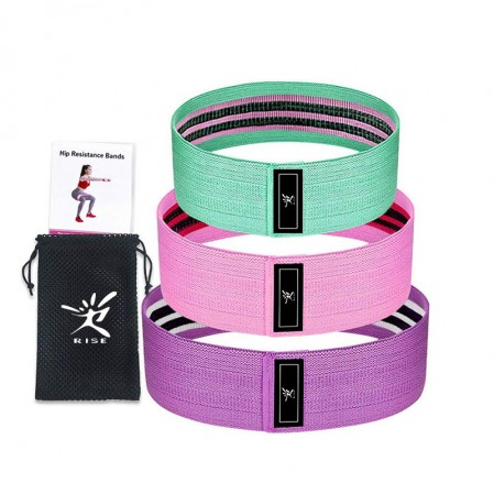 Customize body building hip band set ,glute activation,lower body booty bands