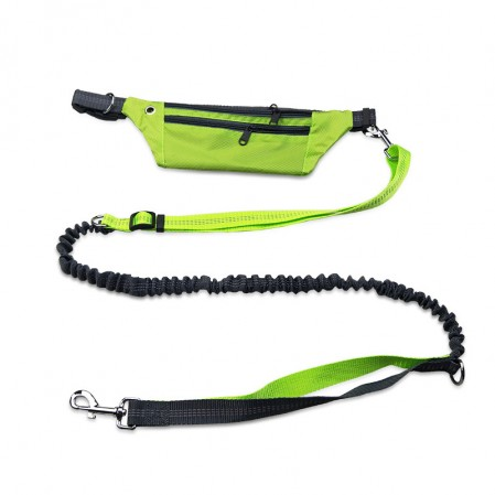 Non-Slip Pet Traction Rope Dog Running Traction Waist Bag