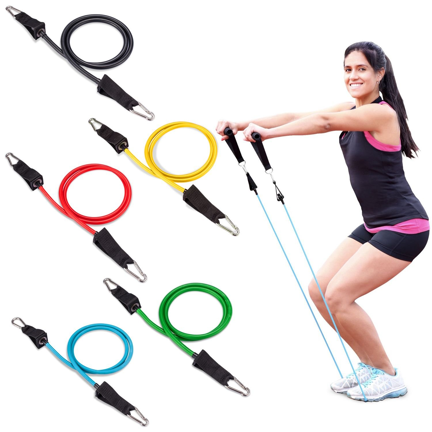 Resistance tube Exercise Bands for Training Featured Image