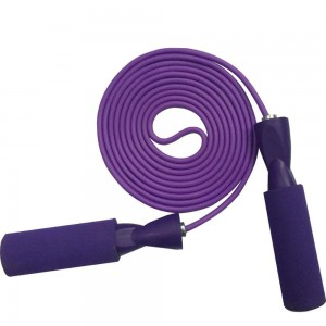 Adjustable  Jump Rope with Precision Bearing and Foam Handles