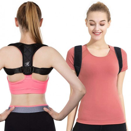 Posture Corrector for Women Men – back Posture Brace corrector- FDA CE COA Approved.