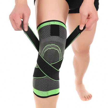 Knee Brace Compression Sleeve skridsikker Knee Support Stabilitet komfort til øvelser