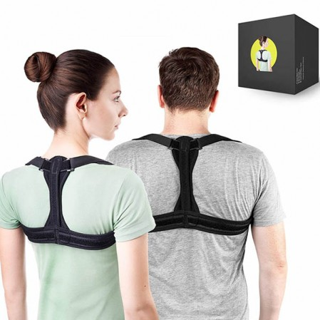 Physical Therapy Posture Brace for Men and WomenNeck Pain Relief,Posture Corrector Spinal Support