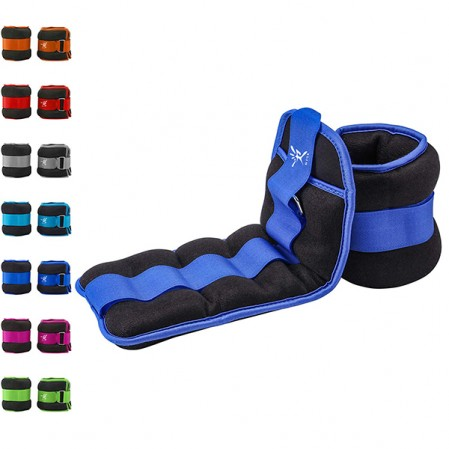 Adjustable Ankle Weight, Durable Wrist Weight 1 Pair Adjustable Strap for Fitness
