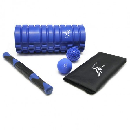 Logo customized service muscle roller foam roller massage ball spiky massage ball kit